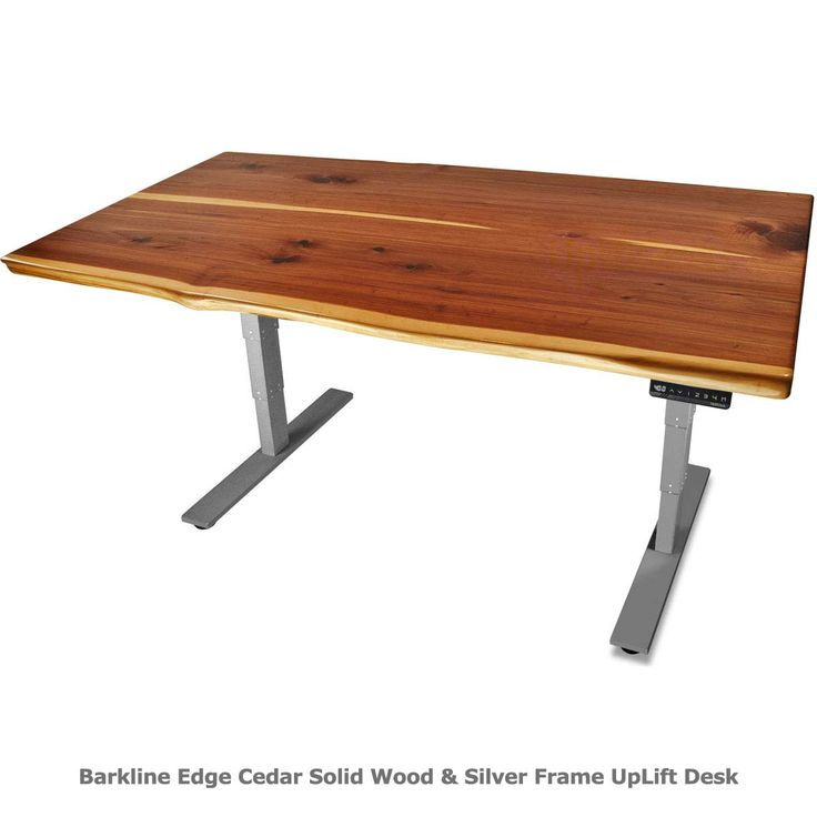 Desk I Love 80s : Uplift solid wood height adjustable standing desk