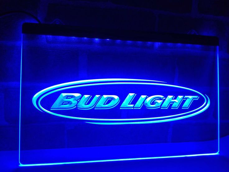Bud Light Beer Bar Pub Club NR LED Neon Light Sign home decor crafts Man Cave