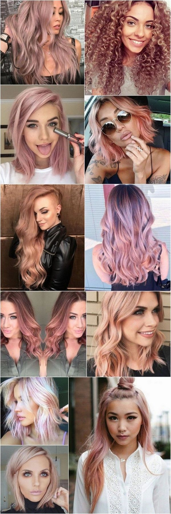 best pink pastel hair inspiration images on pinterest