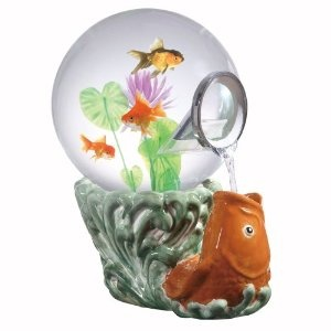 Magic Globe Koi Goldfish Aquarium, 5-Gallon (Misc.)