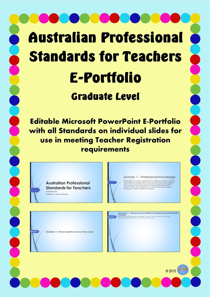Australian Professional Standards for Teachers E Portfolio -Blue Design at Graduate Standards - Editable portfolio for you to use and maintain to show how you meet the standards. Great for Pre-Service Teacher Registration, University Assignments and showing your mentor teacher.