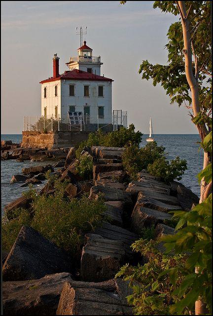 Fairport Harbor Lighthouse - Lake Erie, Ohio ~Repinned Via Barbara Blackwood
