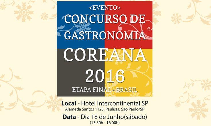 Final do Concurso de Gastronomia Coreana – São Paulo