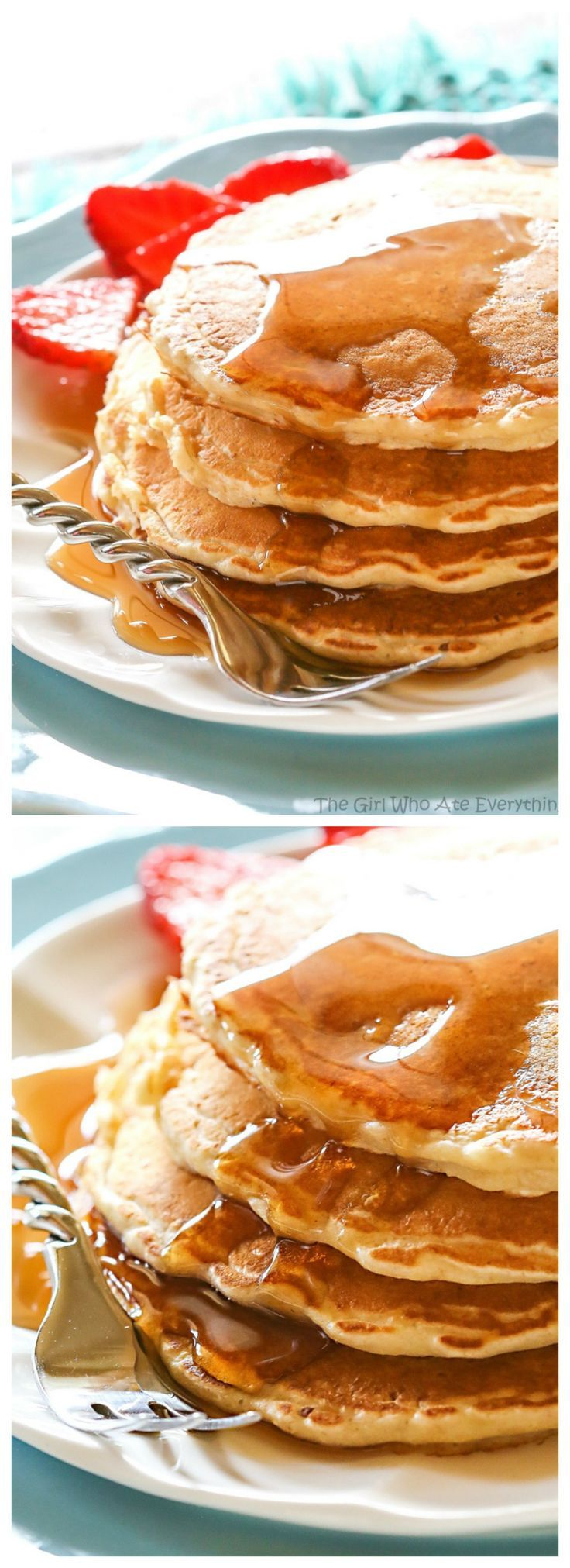 These Healthy Oatmeal Pancakes are hearty and filling. This tried and true breakfast recipe comes from the Duggar family.
