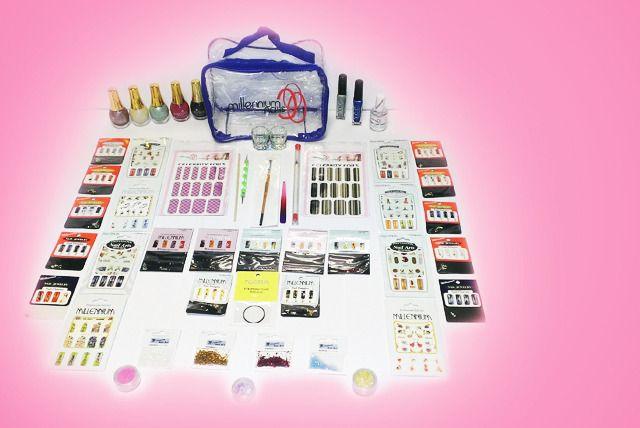 50-Piece Nail Art Kit