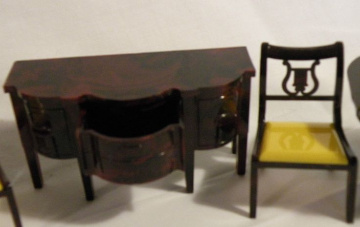 1000 images about ideal dolls house furniture on pinterest dining room furniture toys and - Dollhouse dining room furniture ...