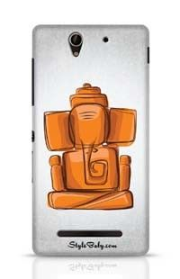 Lord Ganesha Sony Xperia C3 New Phone Case