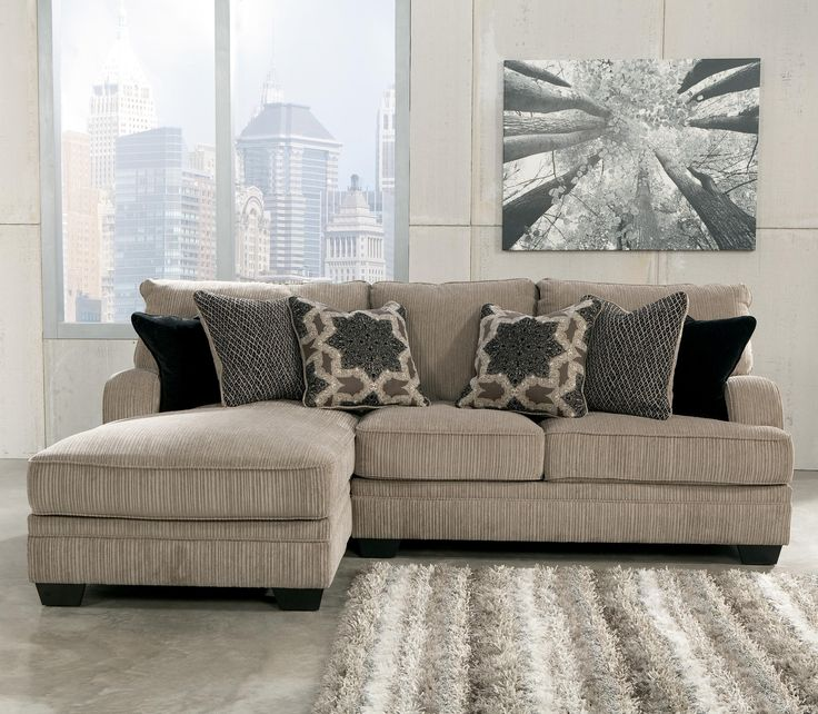 2 Piece Sectional With Left Chaise Katisha Platinum By Signature Design By Ashley Katisha