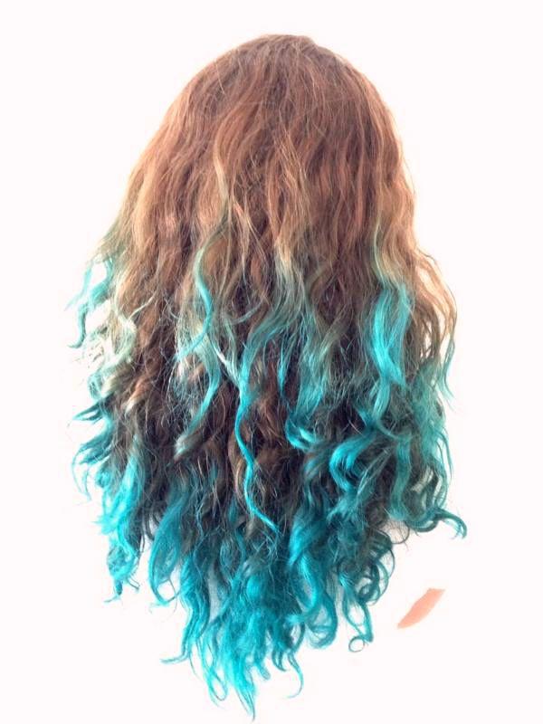 Nieuw Pin van Diedelove op Haar   Haar, Stijl haar, Haar verven blauw XM-23