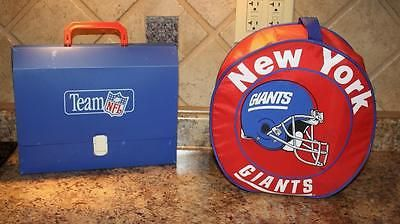 awesome NY GIANTS Portable Dinnerware SET MUST SEE Tailgate FOOTBALL - For Sale View more at http://shipperscentral.com/wp/product/ny-giants-portable-dinnerware-set-must-see-tailgate-football-for-sale/