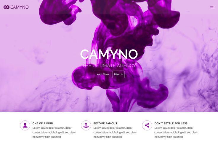 Camyno - Premium WordPress Theme by Themefyre on Creative Market