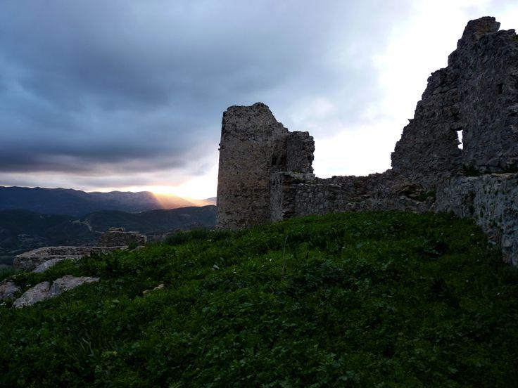 castle of Asklipio in Rhodes