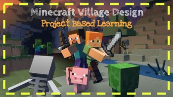Minecraft Area and Perimeter Project Based... by Teaching in the Tar Heel State | Teachers Pay Teachers