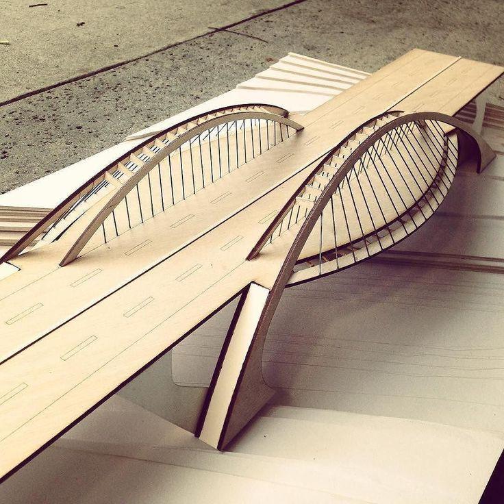nextarch |  Bac de Roda #bridge structures term project by  @vincent_chan_vc | #nextarch #next_top_architects