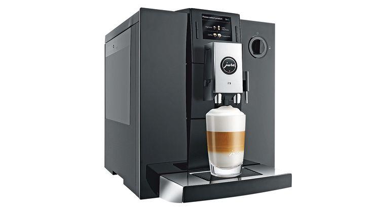 Jura F9 Automatic Coffee Machine - Black