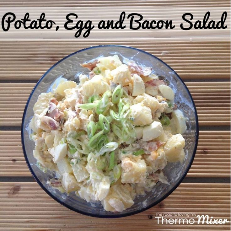 This is my all time favourite salad. I looooove potato salad. I could quite happily eat this every single night all through summer
