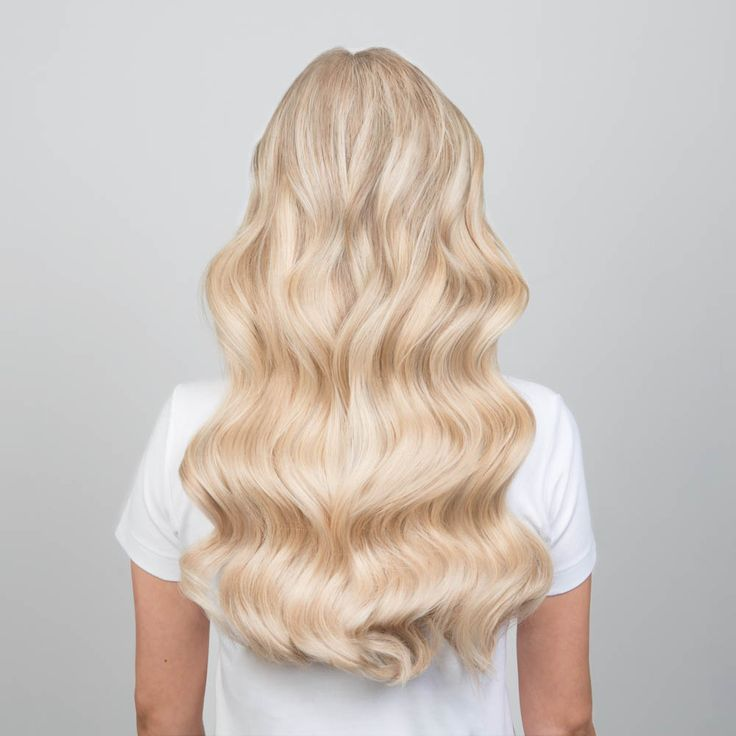 Milk + Blush Hair Extensions: 20-22″ Luxurious Set in the shade Second Base