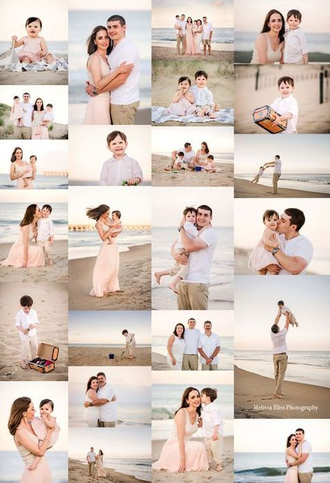 Best Beach Photography : Sandbridge Photography – Family Vacation Photos — Melissa Bliss Photography – Audrey Snyder