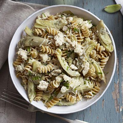 Minted Chicken and Artichoke Rotini