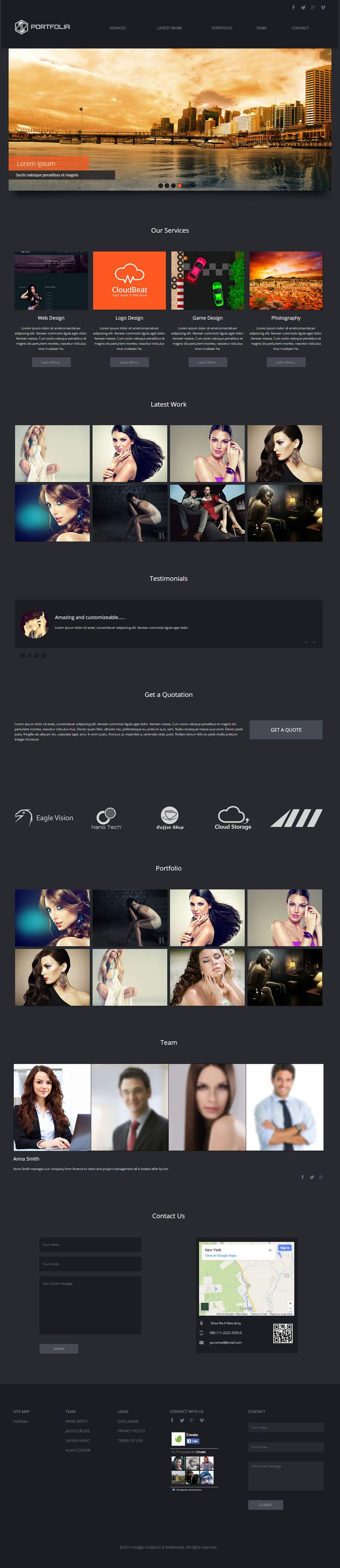 90 best Muse Templates images on Pinterest | Design websites, Site ...