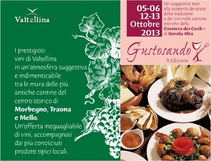 Gustosando - 5/6/12/13 ottobre 2013 - Gerola Alta