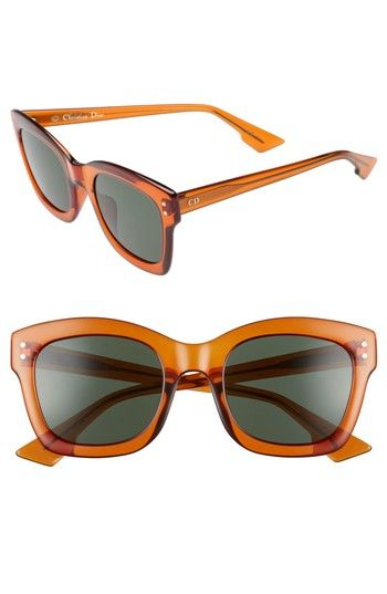 07f6bc3c0ba DIOR IZON 51MM SUNGLASSES - ORANGE.  dior