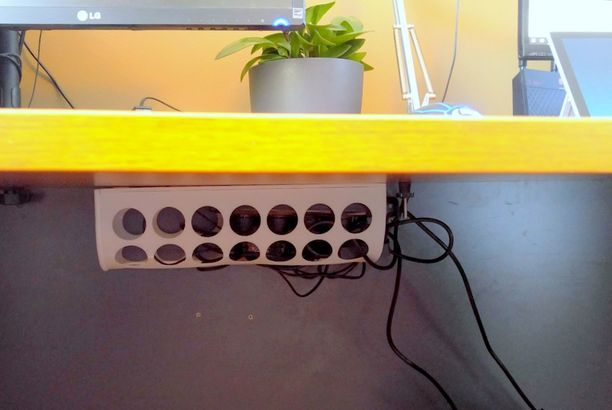 Wire Management Box For 36 48 60 And 72 Wide Desks Wire