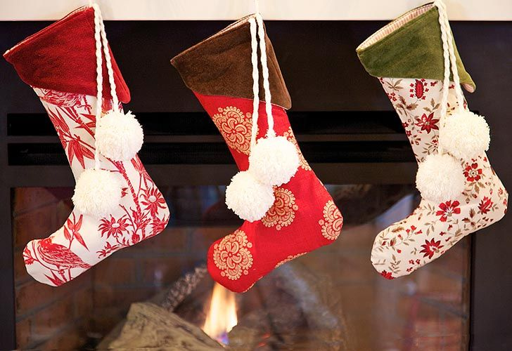 27 Free Diy Homemade Christmas Stockings Patterns And Tutorials Christmas Stockings Sewing Christmas Stockings Diy Christmas Stockings