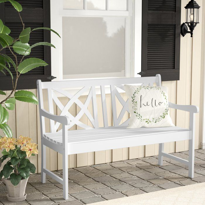 Chaucer Garden Bench With Images Wooden Garden Benches Wooden
