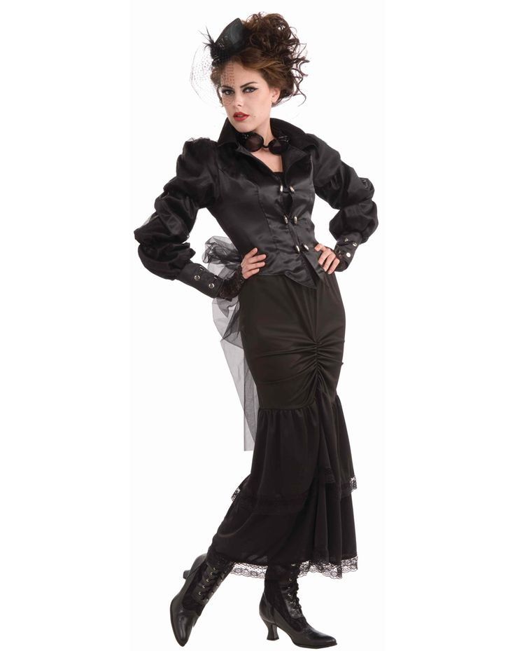 Steampunk Victorian Lady Adult Womens Costume