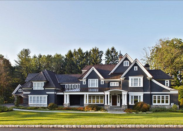 1. Talk about curb appeal | Pinterest Users Designed The Ultimate Dream House