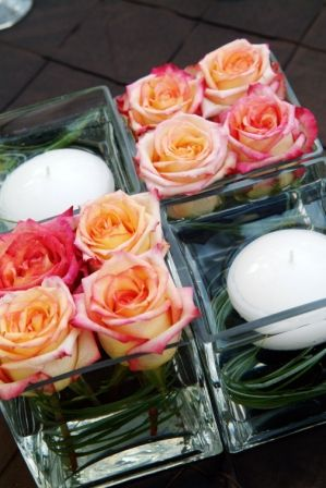 Classic Creations | Denver Weddings | Low Wedding Centerpiece Ideas