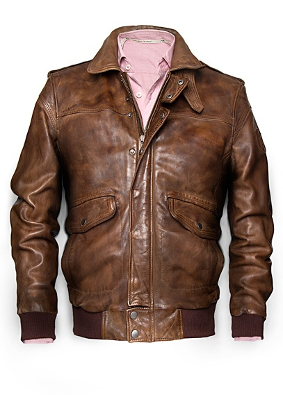 H.E. by Mango Pilot Jacket -   for all the Wingmen out there! Great Job!