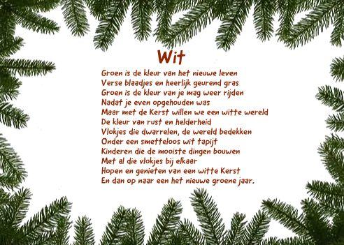 derde inzending voor de kerstkaarten tekst wedstrijd 2012 van Joyce Derksen