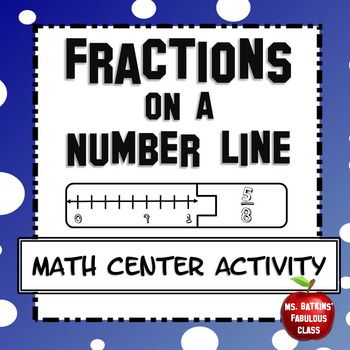 This math station contains 20 total problems in a math station game for students to practice finding fractions on a number line. Contains halves, thirds, fourths, sixths, eighths, tenths and 2 improper fractions so that you can see if students can extend their knowledgeStudents could use this activity during guided math or you could use it as an activity for quick finishers.