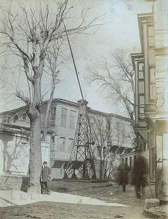 1890'lı yıllarda Zincirlikuyu, Zincirlikuyu'ya adını veren kuyu