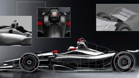 INDYCAR Unveils New Images of 2018 Verizon IndyCar Series Car Design