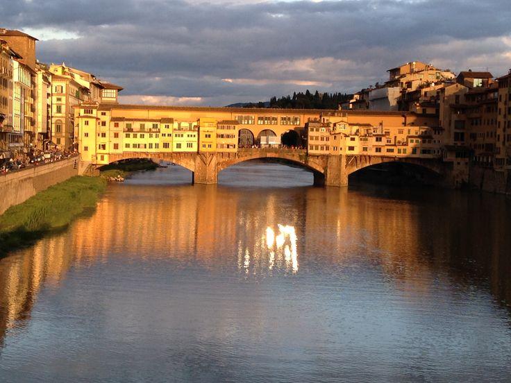 The Ponte Vecchio, Florence Italy