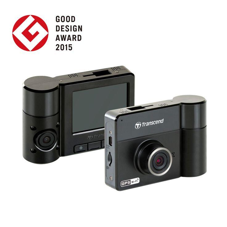 デュアルカメラ搭載で、運転中の映像と同時に車内の状況も撮影できる。フルHDの1920×1080Pで常時録画対応(リアカメラは720P)。GPS内蔵で位置が即座にわかる。アプリで撮影動画も閲覧できる。32GBのmicroSDカード付属ですぐ使用できるドライブレコーダー。Transcend(トランセンドジャパン)製。Transcend社メーカー2年保証。TS32GDP520A-J。