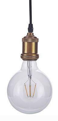 Ampoule LED Clear Decoration / E 27 - 2 W H 17,5 x Ø 12,5 cm - Transparent - House Doctor