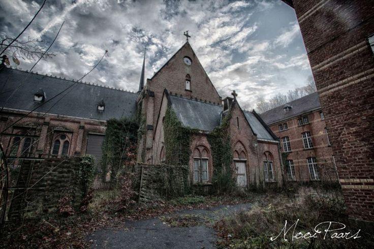 Блог - Заброшенная психиатрическая больница в Бельгии