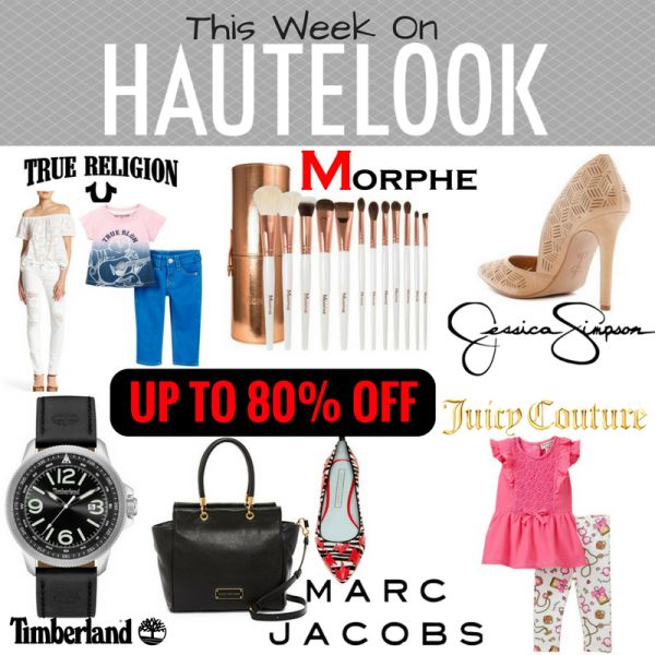 Hot Deal This Week on Hautelook  Click on the link below to find out more about this deals.  Check out http://www.bighappysavings.com to find more money saving deals  #BigHappySavings, #CouponCommunity, #Hautelook, #JessicaSimpson, #JuicyCouture, #LandsEnd, #MakeupDeals, #MarcJacobs, #MorpheBrushes, #OnlineDeals, #Timberland, #TrueReligion
