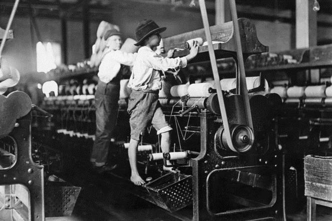 Børne arbejde (og også slaveri)