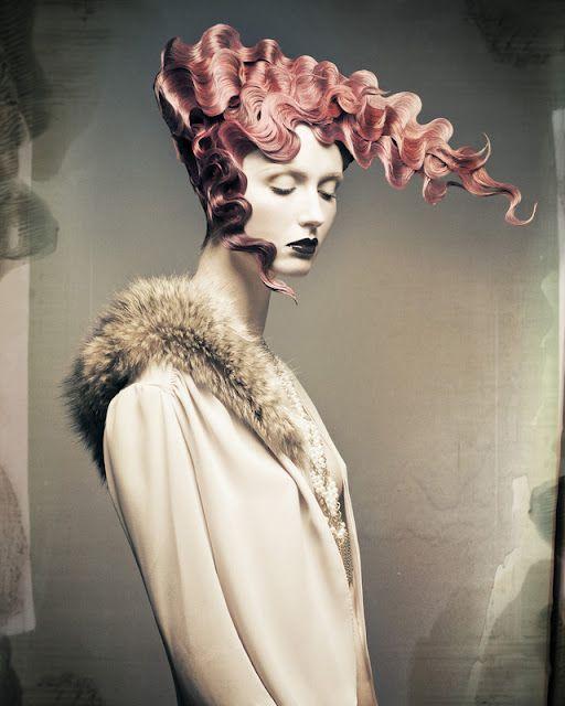 Dusty Simington: gothic /avant garde hair