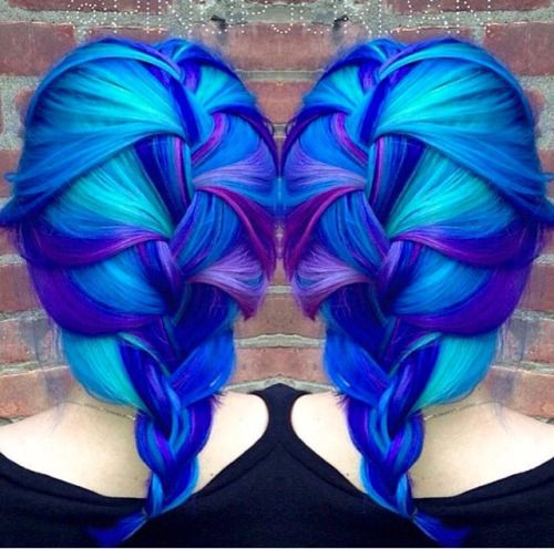 guy tang rainbow hair - Google Search