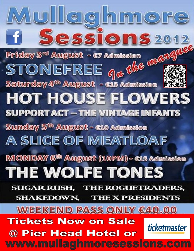 Mullaghmore Sessions - Sligo  August Bank Holiday Weekend 2012