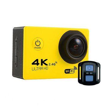 Tekcam F60R Sensor SONY IMX179 4K 2.0inch 170 HD Wide-angle Lens Wifi Sport DV with Accessories Sale - Banggood.com