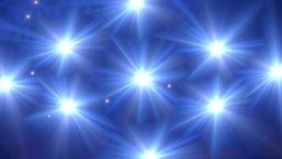 Star Glow Blue Pattern Stock Animation