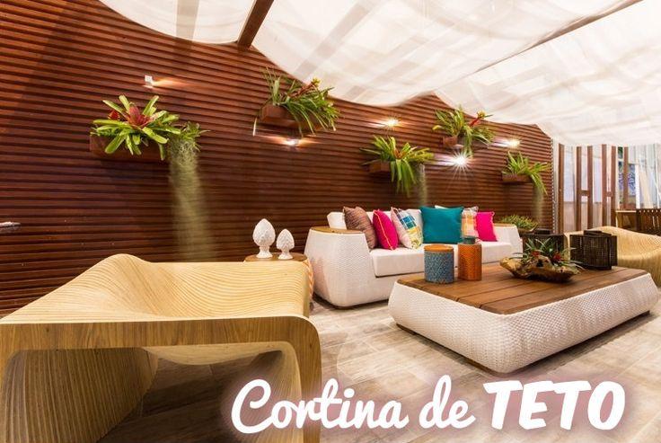 Cortinas de teto para casa e pergolados cortina de - Cortinas para casa ...