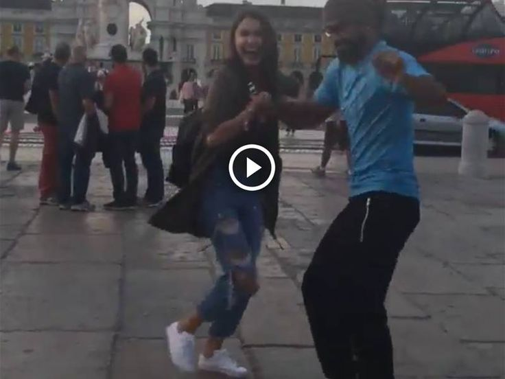 WATCH: Anushka Sharma dancing on streets of Lisbon